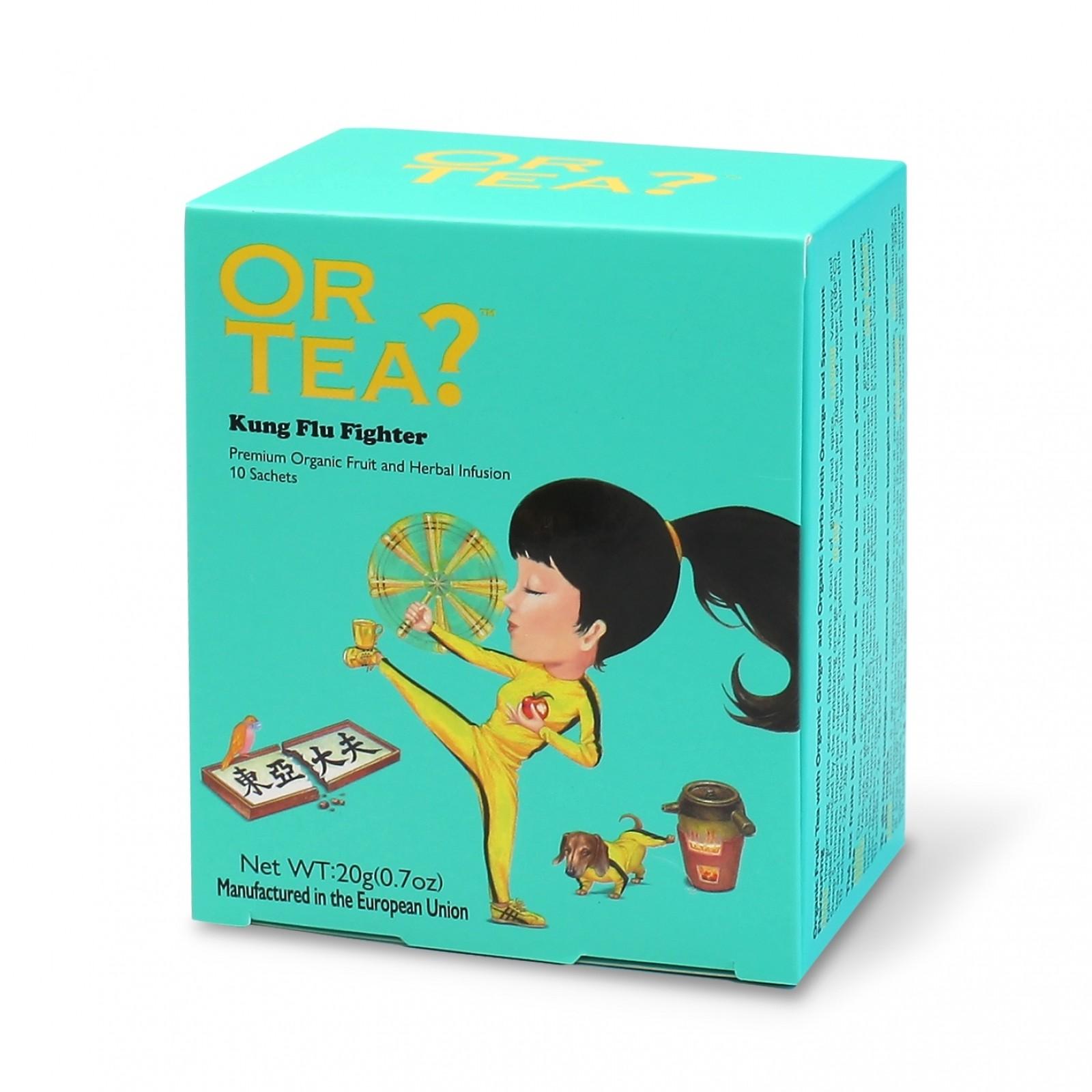 Kung Flu Fighter - Groene thee met kruiden