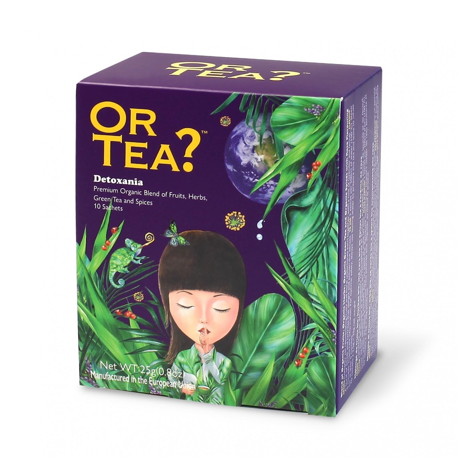 Detoxania - Groene thee met kruiden en fruit