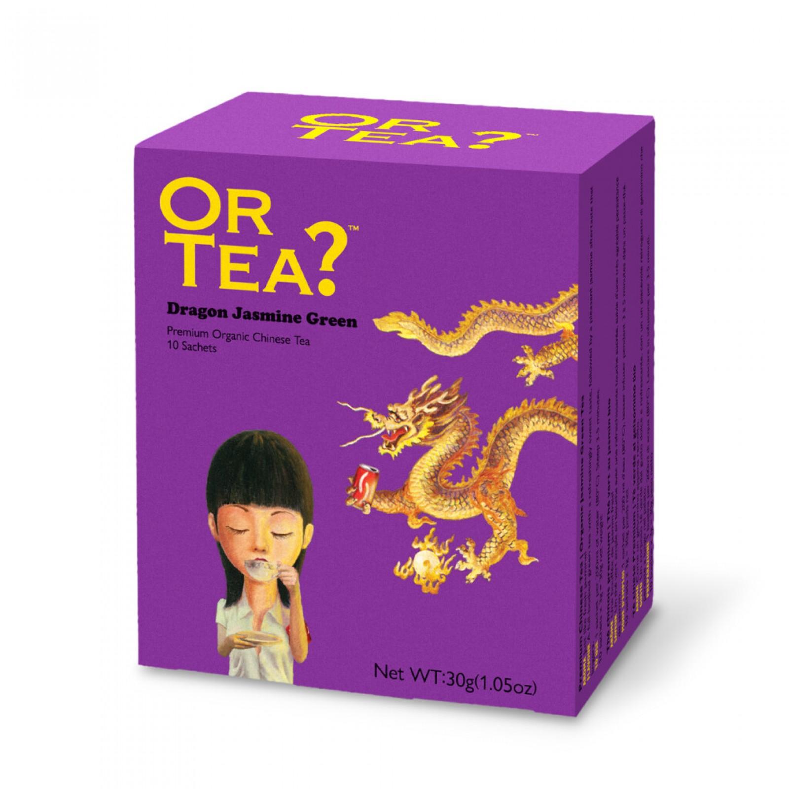 Dragon Jasmine Green - Groene thee met jasmijnbloe...